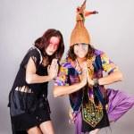 ������, ������: Couple Having fun in Costumes