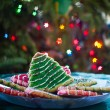 Royalty-Free Stock Photo: Christmas Tree Cookies