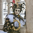 Stock Photo: Closeup of Jester in Venice Italy