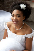 Ethnic Bride — Stock Photo