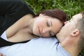 Intimate couple — Stock Photo