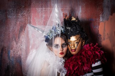 Beaautiful Women in Costume