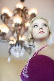 Beautiful Elegant Lady — Stock Photo