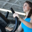 Attractive Young Woman Exercising — Stock Photo