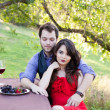 Royalty-Free Stock Photo: Couple on a Picnic