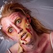Royalty-Free Stock Photo: Woman as a Zombie Bride