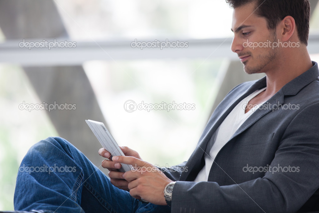 Attractive business man in his Good Looking Man Facebook