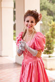 Pretty Costumed Woman — Stock Photo
