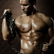 Muscular worker — Stock Photo #14187331