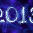 Stock Photo: Date New Year 2013