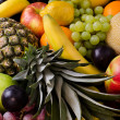 Still life multifruit background — Stock Photo