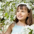 Little girl - Stock Photo