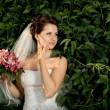 Stock Photo: Beautifull fiancee