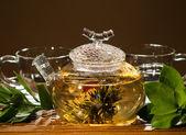 Tea service — Stock Photo