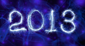 Date New Year 2013 — Stock Photo