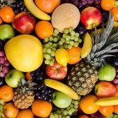 Still life multifruit background — Stock Photo