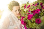 Beautiful fiancee — Stock Photo