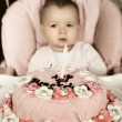Stock Photo: Baby birthday