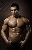 Muscular guy — Stock Photo