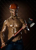 Workman — Stock Photo