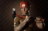 Workman — Stock Photo
