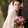 Stock Photo: Beautiful fiancee