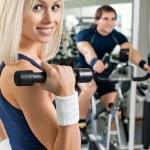 Sport fitness — Stockfoto