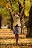Happy girl — Stock Photo