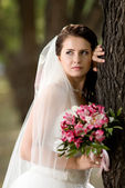 Beautiful fiancee — Stock Photo