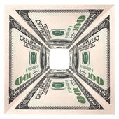 Currency note  dollar — Stock Photo