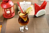 Apple freshener soft drink — Stock Photo