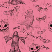 Textura perfecta de halloween — Vector de stock