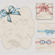 Set of vintage gift bows. — Stock Vector #19332017