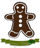 Christmas cookie. — Stock Vector
