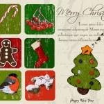 Christmas poster. — Stock Vector #35440997