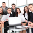 Business team in business meeting — Stock Photo #19245845