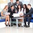 Business team in business meeting — Stock Photo