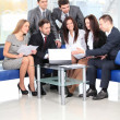Stock Photo: Business team in business meeting