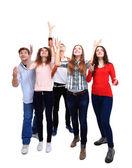 Groupe d'étudiants — Photo
