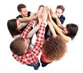 Equipe de sucesso — Foto Stock