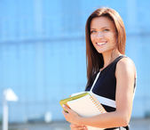 Successful business woman — Stock Photo