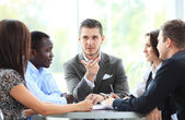 Business partners discussing — Stock Photo
