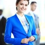 Beautiful businesswoman — Stock Photo