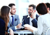 Business team having meeting — Stock Photo