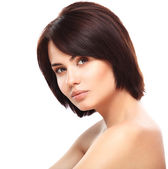 Young Woman with Clean Fresh Skin — Stock Photo