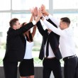 Business team celebrating success — Stock Photo #49768601