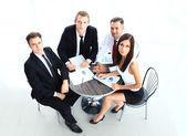 Business team having meeting — Stock Photo