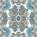 Traditional Ornamental Floral Paisley Bandanna — Stock Vector #13496188