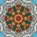 Traditional Ornamental Floral Paisley Bandanna — Stock Vector #13496903