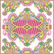 Royalty-Free Stock Vector: Traditional ornamental floral paisley bandanna